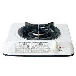 *大阪ガス*110-P530 ガスビルトインコンロ ホーロー天板 1口タイプ ホワイト