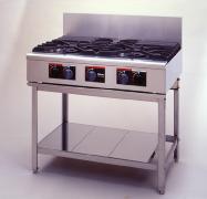 *パロマ*GCF-4126 業務用ガステーブル・コンロ 脚付きタイプ