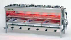 *リンナイ*R-8456C 業務用グリル ガス赤外線グリラー[上火式] 大型グリラー