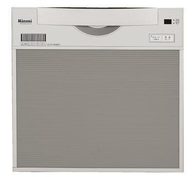 ☆【無料3年保証/工事もご依頼で5年】*リンナイ*食器洗い乾燥機ビルトインタイプ[スライドオープンタイプ]RKW-C401CSA-SV