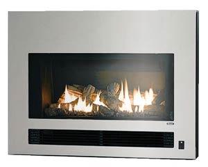 *リンナイ*ガス暖炉ステンレスタイプRHFE-750ETR-S