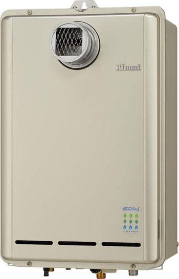 *リンナイ*RUX-E1610T ガス給湯器 PS扉内設置型 [給湯専用] 16号15Aタイプ【送料・代引無料】