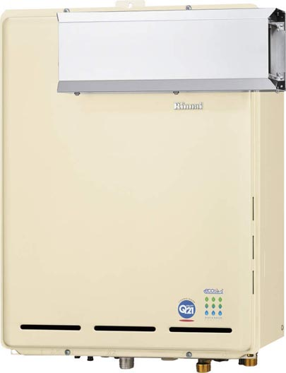 *リンナイ*RUF-TE1610SAA ガスふろ給湯器 アルコーブ設置型 [オート] エコジョーズ 16号 カエッコ【送料・代引無料】