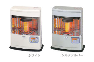 ☆*サンポット*FFR-553BLK[W/SS] 石油暖房機 FF式 クールトップ 木造14畳/コンクリート19畳【送料・代引無料】