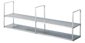 *サンウェーブ*SRW-150-2S 水切棚[吊戸棚下用] 間口150cm