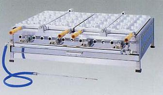 *正英[SHOEI]*UWK-3 業務用回転焼器 合せ式 10穴 引き出し付