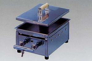 *タチバナ*DA-1 業務用餃子焼器 どて焼/ギョーザ焼 蓋無し