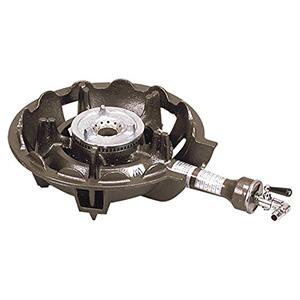 *正英[SHOEI]*TS-501P 業務用鋳物コンロセット 一重小・種火付