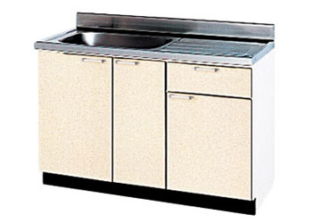 *タカラスタンダード*P-120[L/R][PUI/PUG/PUL] 木製キッチン [P型] 流し台