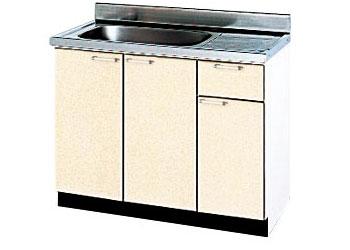 *タカラスタンダード*P-100[L/R][PUI/PUG/PUL] 木製キッチン [P型] 流し台