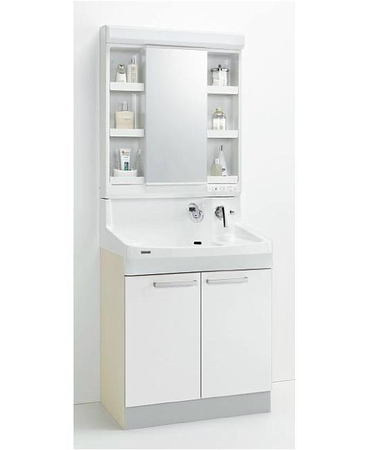 *クリナップ*ファンシオ 洗面化粧台セット 間口75cm M-751PF+BPF[H/L]75TMY 開きタイプ