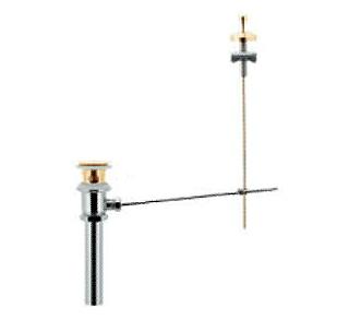 *KAKUDAI*432-419-32 排水上部セット ポップアップ排水金具ユニット カウンター上面操作タイプ