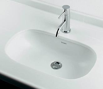 *KAKUDAI*#DU-0338490000 DURAVIT アンダーカウンター式洗面器【送料・代引無料】