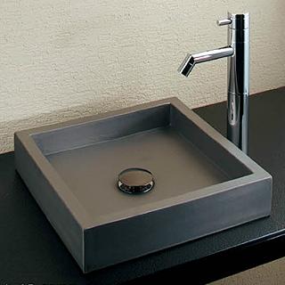 *KAKUDAI* 493-056 いらか[甍] 角型手洗器【送料・代引無料】