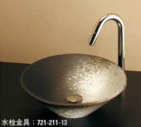 *KAKUDAI* 493-037-D1 Luju[瑠珠] 丸型手洗器 白窯肌【送料・代引無料】