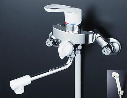 *KVK水栓金具*浴室用水栓 シングルレバー式シャワー KF5000【送料無料/代引不可】