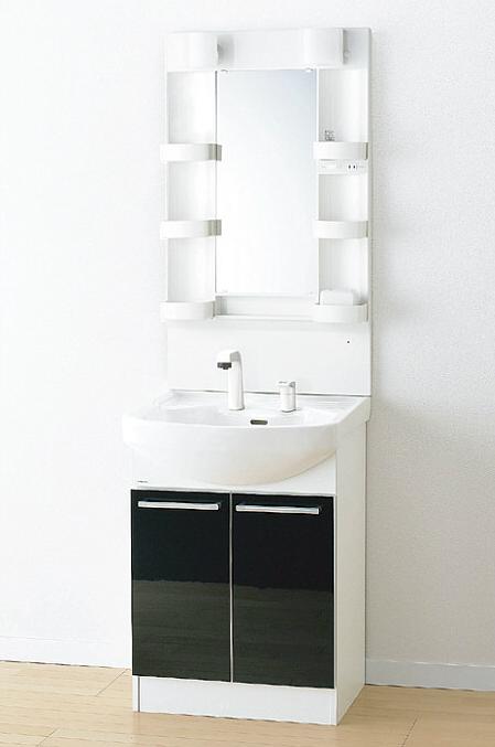 *アサヒ衛陶 1面鏡*LK3611KU[B/W]+M601SBLH 洗面化粧台上下セット Kシリーズ 1面鏡 間口600mm Kシリーズ 間口600mm, ガラス建材の高山:e7c1df87 --- officewill.xsrv.jp