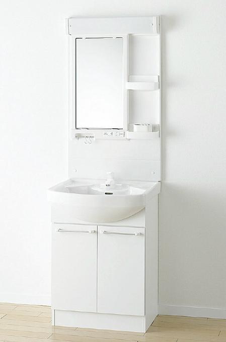 *アサヒ衛陶*LK3610KRF[W10/M10/D10]+M601TSH 洗面化粧台上下セット 1面鏡 Kシリーズ 間口600mm