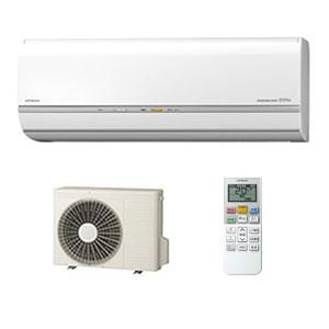 *日立*RAS-VL63C2[W]+RAC-VL63C2 エアコン VLシリーズ 暖房16~20畳/冷房17~26畳【送料・無料】