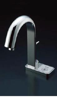 *INAX*洗面・手洗器用自動水栓 オートマージュ[グースネックタイプ] AM-121T/121TC[100V] 混合水栓 手動スイッチ付【送料・代引無料】