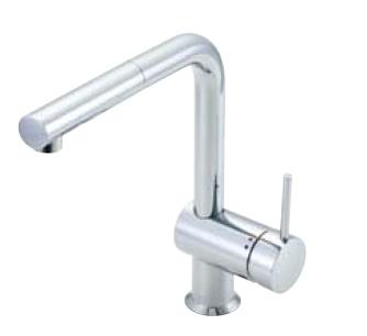 *INAX* キッチン用吐水口引出式シングルレバー混合栓 eモダンLタイプ SF-E546S[N]