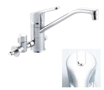 *INAX* シングルレバー混合栓[分岐形] クロマーレ[エコハンドル] SF-HB420SYX[N]BV