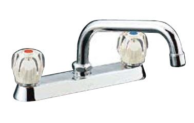 *INAX* キッチン用 2ハンドル混合栓 一般水栓 SF-130F-G[-U]