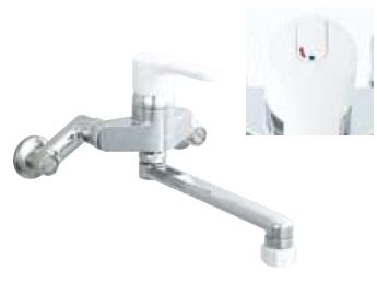 *INAX* キッチン用[キッチンシャワー付] シングルレバー混合栓 ノルマーレ[エコハンドル] 壁付タイプ SF-HE433SYN 寒冷地