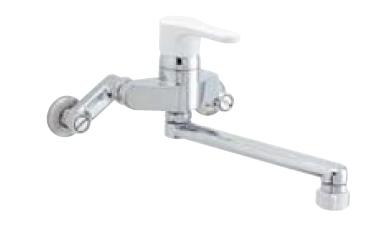 *INAX* キッチン用[キッチンシャワー付] シングルレバー混合栓 ノルマーレ 壁付タイプ SF-HE433SN 寒冷地
