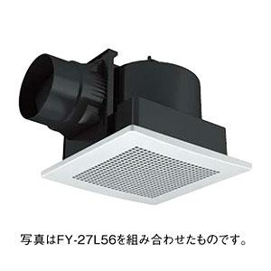 *パナソニック*FY-27JD7 天井埋込形換気扇 [DCモーター]ルーバー別売タイプ