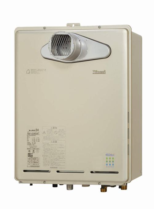 *リンナイ*RUF-E2401SAT[A] ガスふろ給湯器 PS扉内設置型/PS前排気屋外壁掛型 24号[オート]【送料・代引無料】