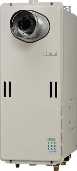 *リンナイ*RUF-SE1600AT-L/RUF-SE1610AT-L ガスふろ給湯器 PS扉内設置型/PS延長前排気型 スリムタイプ 16号[フルオート]【送料・代引無料】