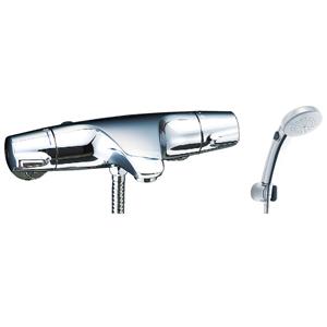 *INAX*BF-J147TSCW サーモスタット付シャワーバス水栓 エコフルスイッチシャワー[メッキ仕様] 【送料・代引無料】