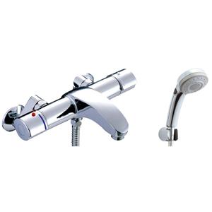*INAX*BF-A147TSBW サーモスタット付シャワーバス水栓 エコフルスイッチ多機能シャワー【送料・代引無料】