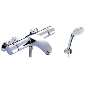 *INAX*BF-A147TSCW サーモスタット付シャワーバス水栓 エコフルスイッチシャワー[メッキ仕様]【送料・代引無料】