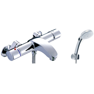 *INAX*BF-A147TNSCW サーモスタット付シャワーバス水栓 エコフルスイッチシャワー[メッキ仕様] 寒冷地用【送料・代引無料】