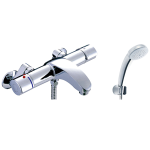 *INAX*BF-A147TSC サーモスタット付シャワーバス水栓 エコフルスプレーシャワー[メッキ仕様]【送料・代引無料】
