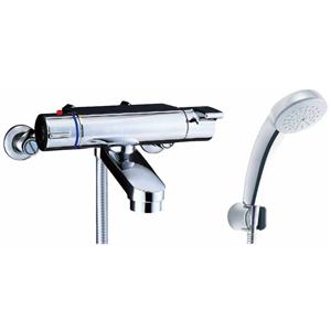 *INAX*BF-2147TKNSC サーモスタット付シャワーバス水栓 エコフルスプレーシャワー[メッキ仕様]寒冷地用【送料・代引無料】