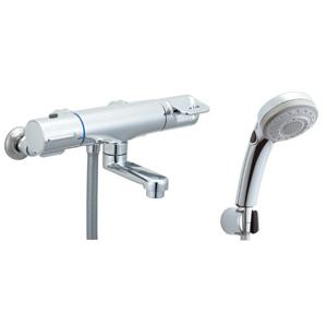 *INAX*BF-HB147TSBW サーモスタット付シャワーバス水栓 エコフルスイッチ多機能シャワー【送料・代引無料】