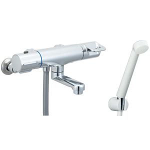 *INAX*BF-HB147TNSD サーモスタット付シャワーバス水栓 エコフルスプレーシャワー 寒冷地用【送料・代引無料】