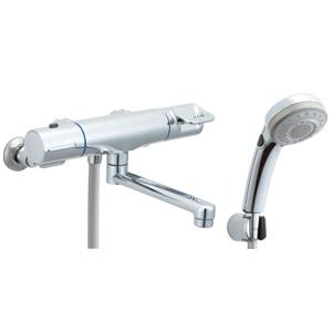 *INAX*BF-HB145TSBW サーモスタット付シャワーバス水栓 エコフルスイッチ多機能シャワー【送料・代引無料】
