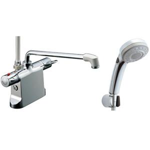 *INAX*BF-B646TSBW[300]-A100 サーモスタット付シャワーバス水栓エコフルスイッチ多機能シャワー【送料・代引無料】
