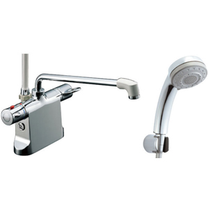 *INAX*BF-B646TNSB[300]-A120 サーモスタット付シャワーバス水栓エコフル多機能シャワー 寒冷地用【送料・代引無料】