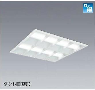 *三菱電機*EL-SK9001[NM/WM/WWM/LM] LED一体形ベースライト スクエアライト ミライエ クラス1000 600埋込形[マルチルーバタイプ]【送料・代引無料】