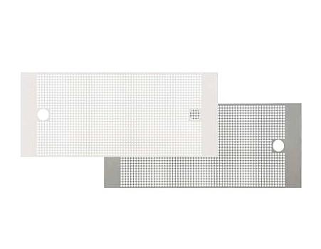 *富士工業* SPF換気ライト用 フィルター LTF04-3781[TW/SV] 本体付属フィルターの交換用 マットホワイト/シルバーメタリック
