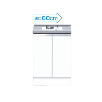 【メーカー直送のみ】*マイセット* M4-60GC1 M4シリーズ コンロキャビネット[1口用] キッチン ベーシックタイプ 加熱機器別 [間口60cm]
