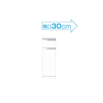【メーカー直送のみ】*マイセット* Y2-30DRC[右/左] 奥行45cm フロアユニット Y2シリーズ 壁面収納 ベーシックタイプ [間口30cm]