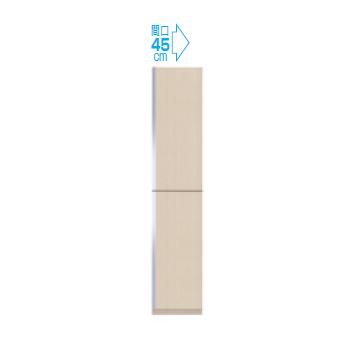 【メーカー直送のみ】*マイセット* Y3-45TU[右/左]+Y3-45FT[右/左] トールユニットセット H220cmタイプ Y3シリーズ 玄関収納 ベーシックタイプ [間口45cm]