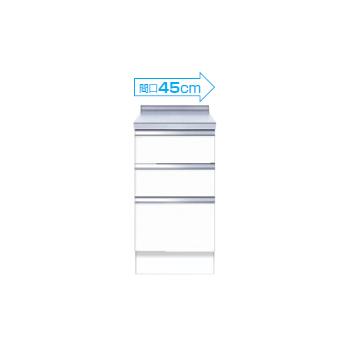 【メーカー直送のみ】*マイセット* S2-45TD S2シリーズ [深型]調理台 キッチン 受注生産 プラスワン [間口45cm]
