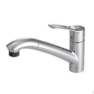 *パナソニック*QSKM5031ZTPC 混合水栓ハンドシャワー クロムメッキ 寒冷地用【送料・代引無料】